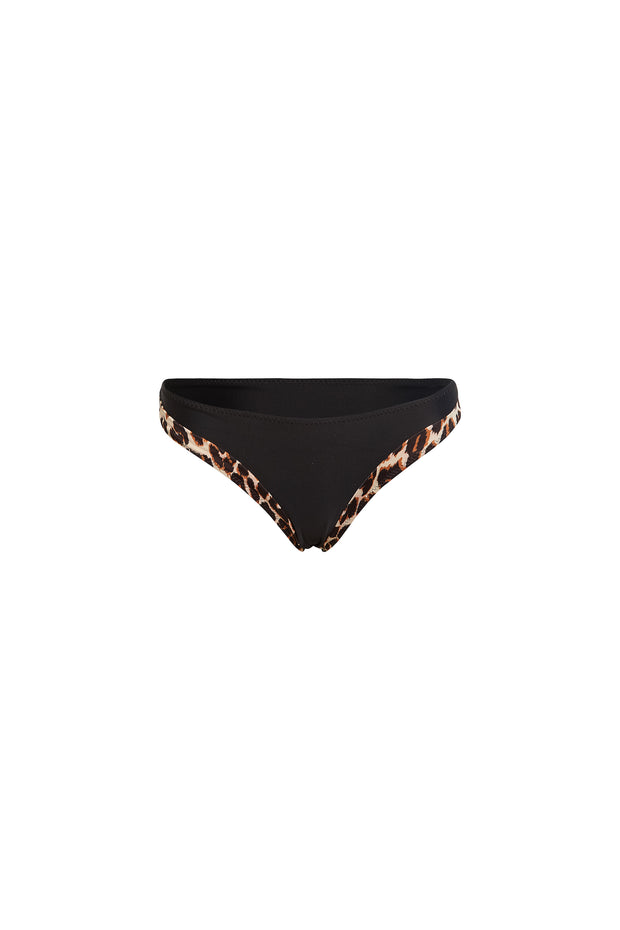 The Divine Bottom (Cheetah/Black)