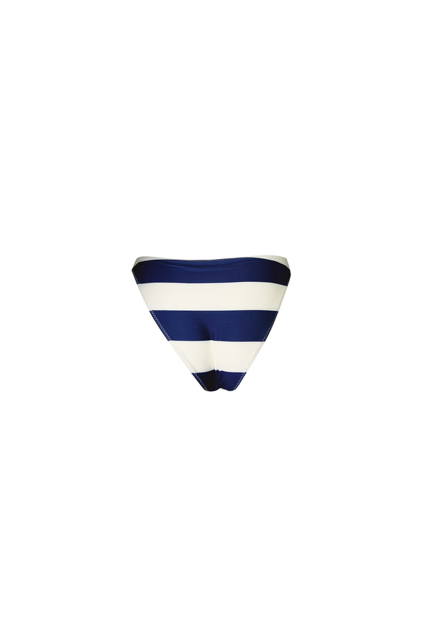 The Lady High Rise (Navy/Cream Stripe)