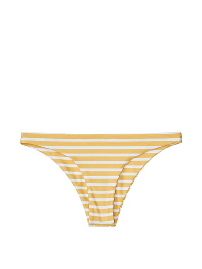 Brief Bottom (Mustard White Stripe)