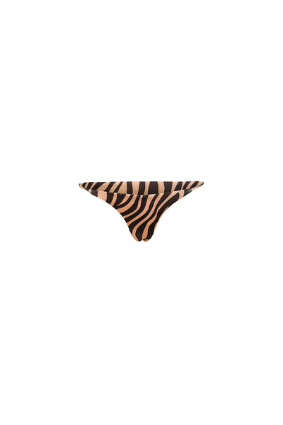 String Bottom (Zebra/Nude)