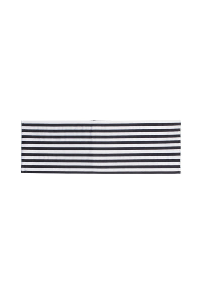 Striped Belt (Blanc & Noir Striped)