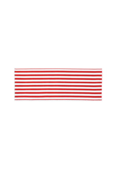 The Striped Belt (Red/Blanc)