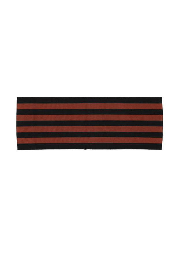 Striped Belt (Black Adobe Striped)