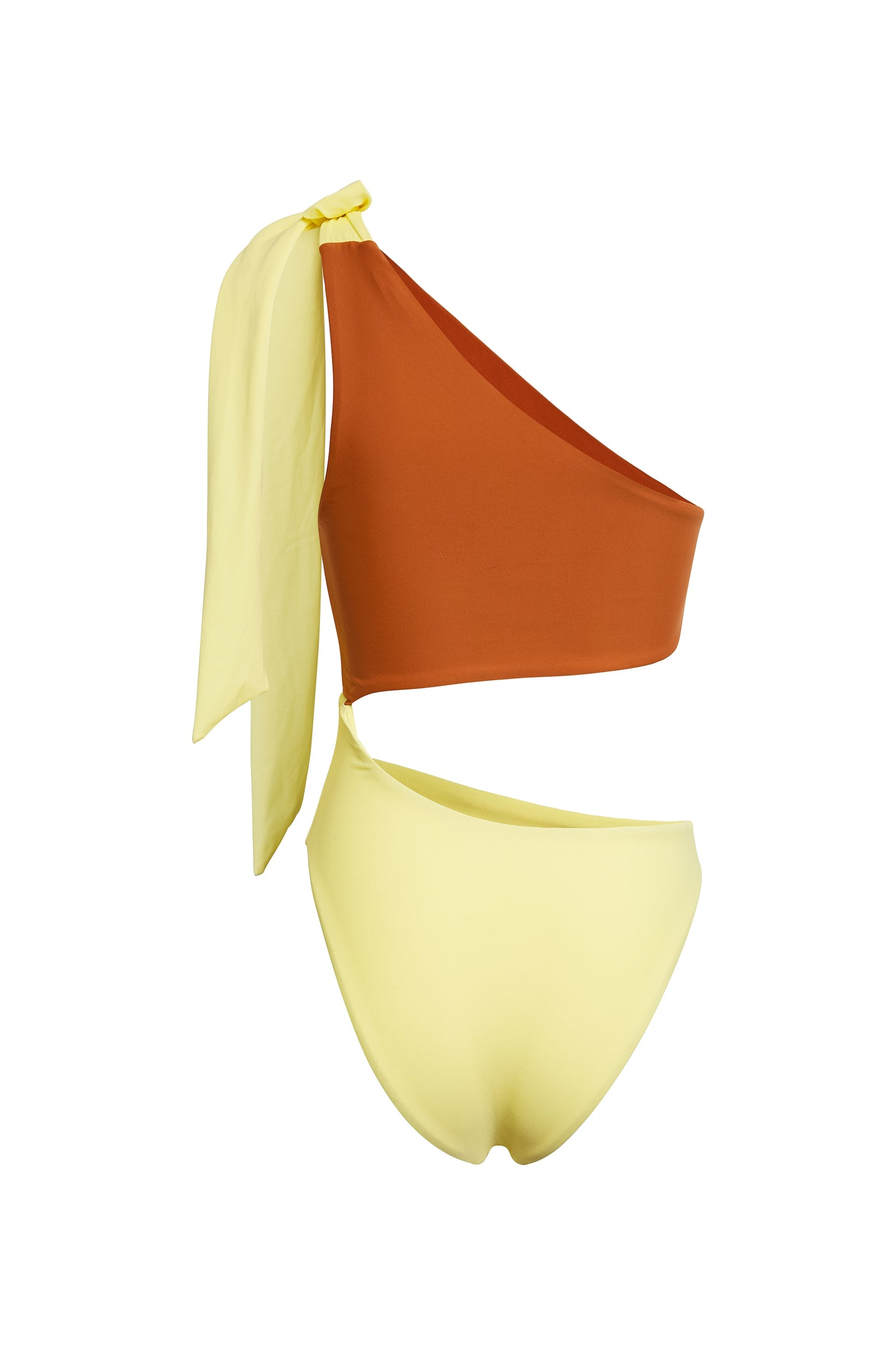 Cut Out One Piece (Yellow/Camel)