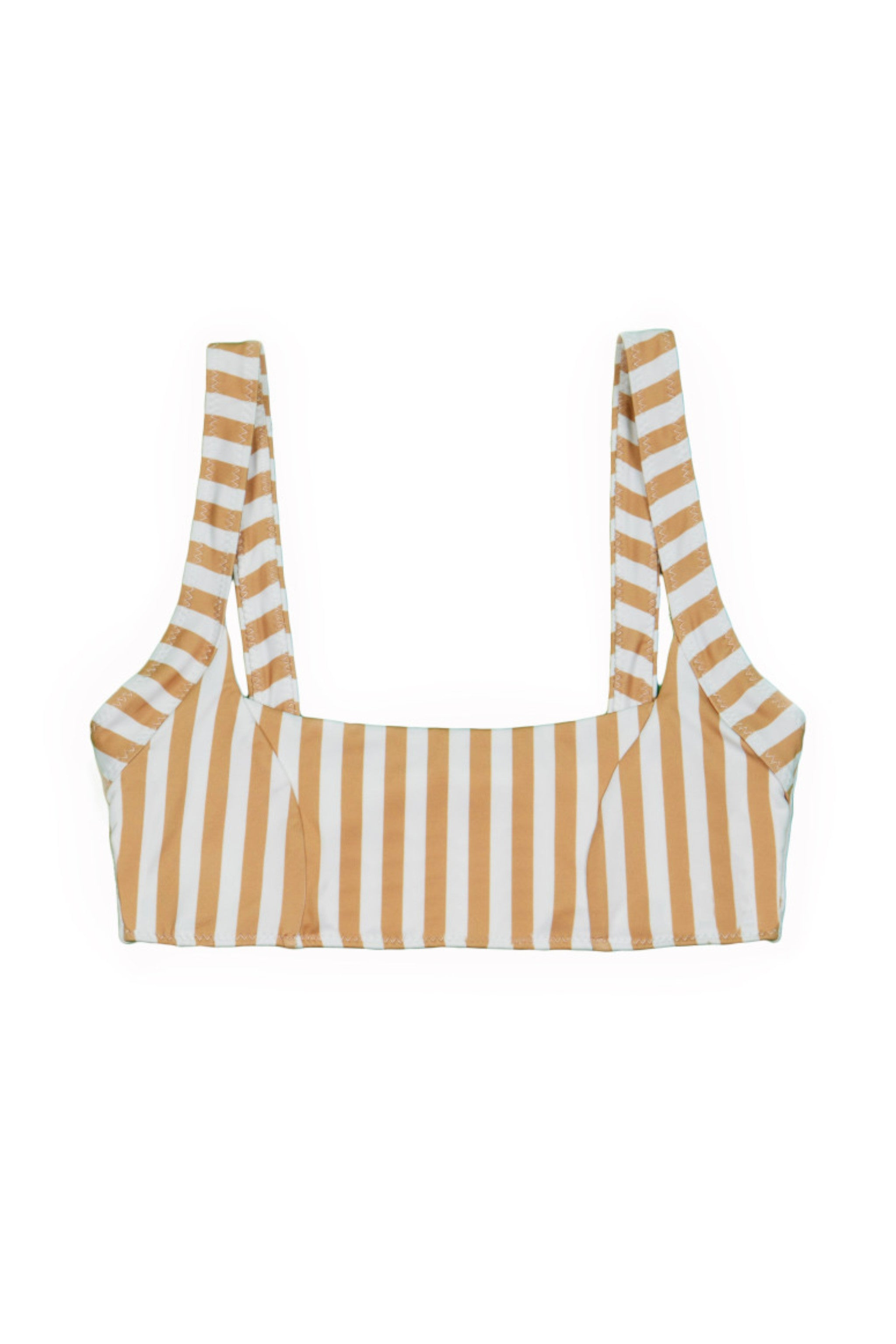 THEDIVINETOP(TAN/WHITESTRIPE)