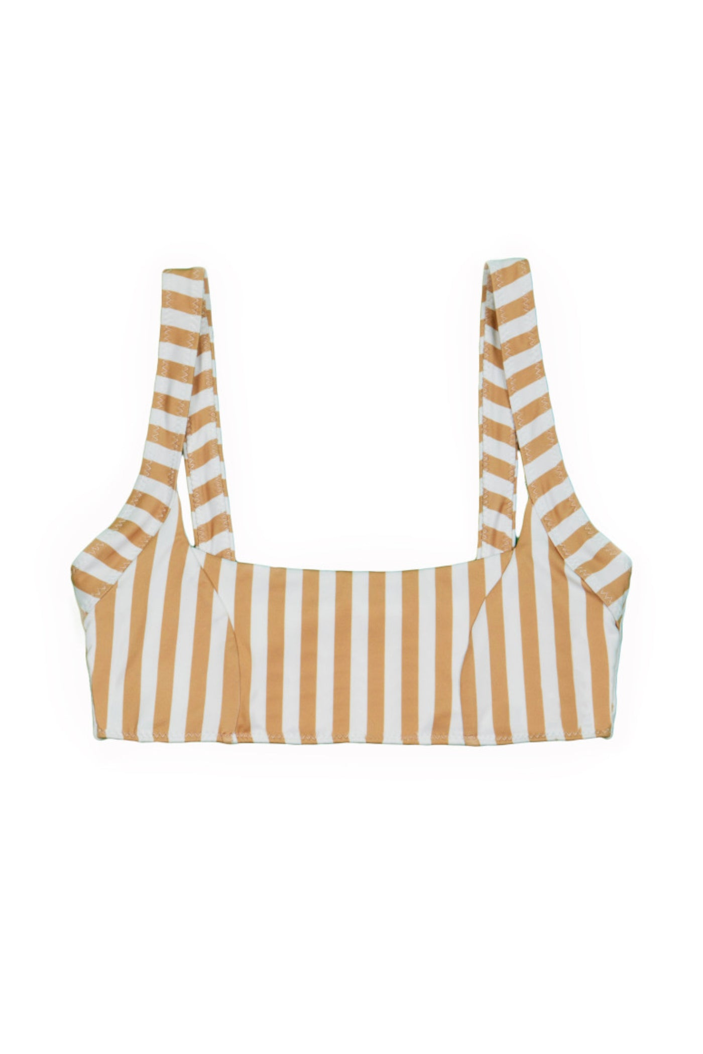 The Divine Top (Tan/White Stripe)
