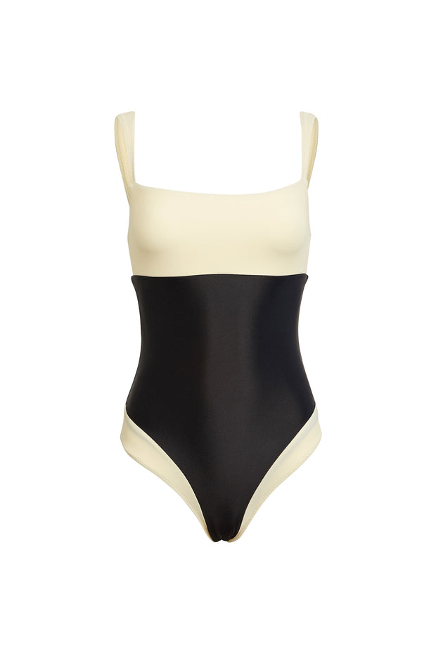 The Divine One Piece (Cream/Black)