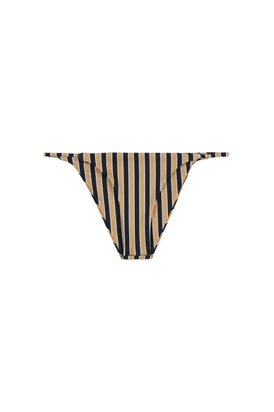 String Bottom (Tan/Black Stripe)