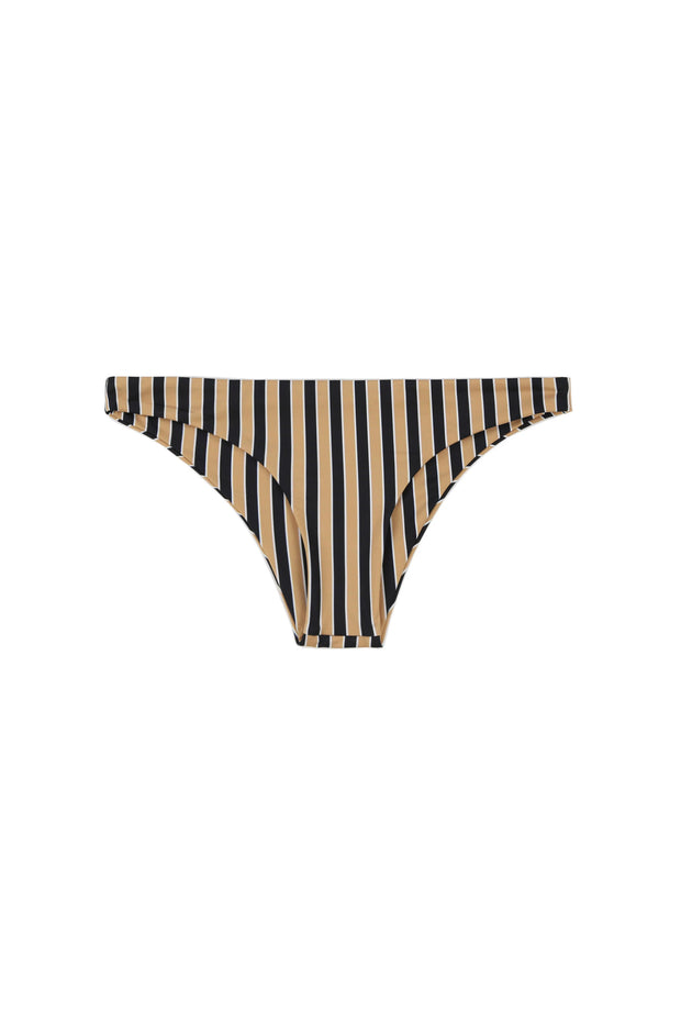 Brief Bottom (Tan/Black Stripe)