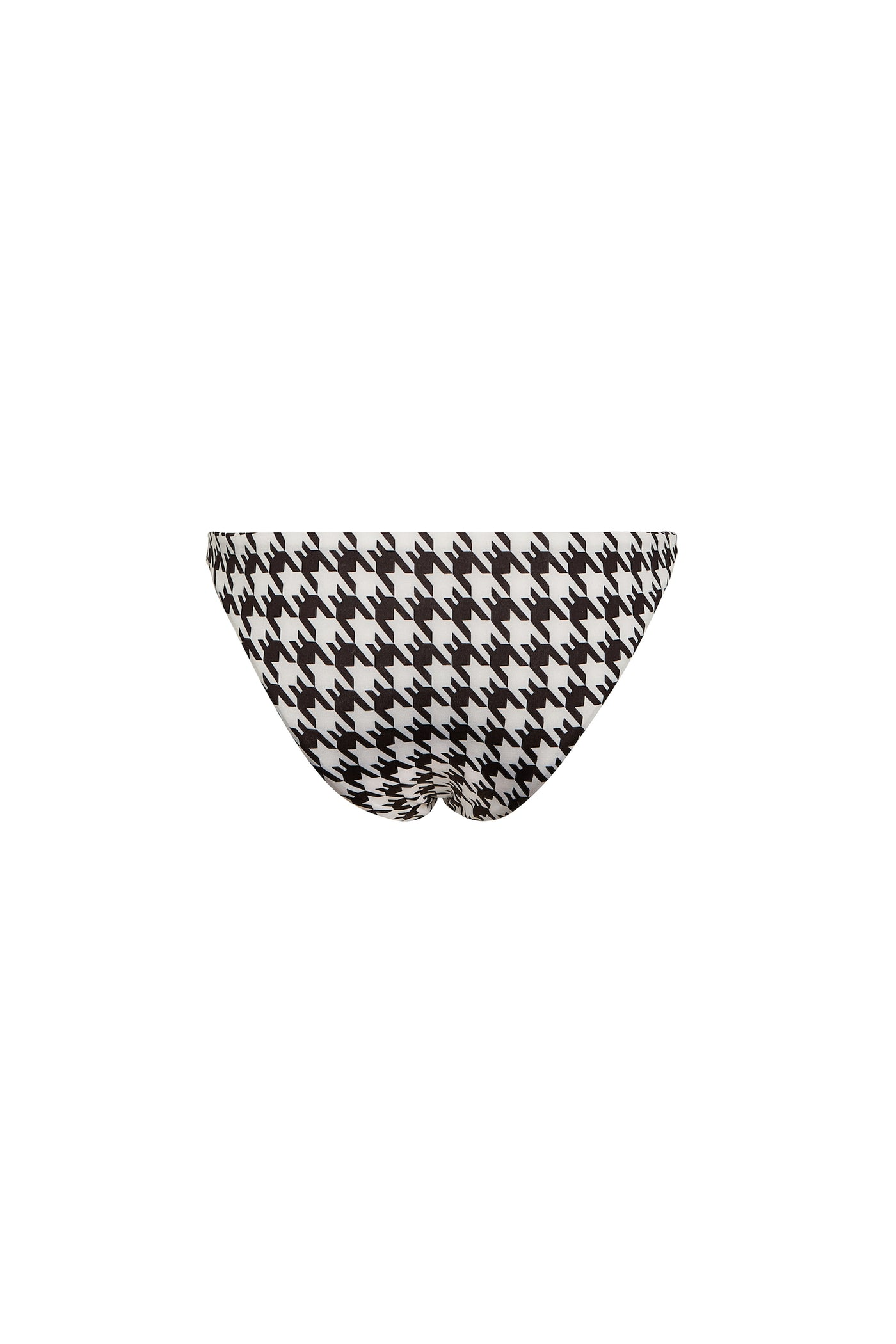 Brief Bottom (Black Houndstooth)