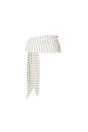 The Lady Sarong (Cream Pinstripe)