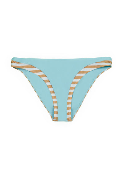 The Divine Bottom (Tan White Stripe/Blue)