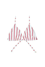 Triangle Top (Magenta Camel Stripe)