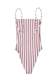 One Piece (Magenta Camel Stripe)