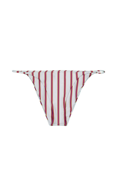 String Bottom (Magenta Camel Stripe)