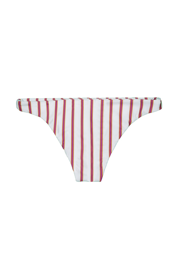 Brief Bottom (Magenta Camel Stripe)