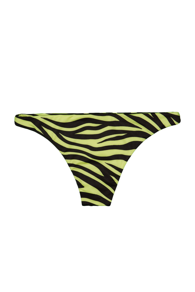 Brief Bottom (Zebra / Yellow)