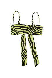Bandeau Top  (Zebra / Yellow)