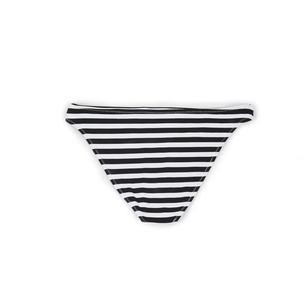 The Divine Bottom (Black/White Stripe Flower)