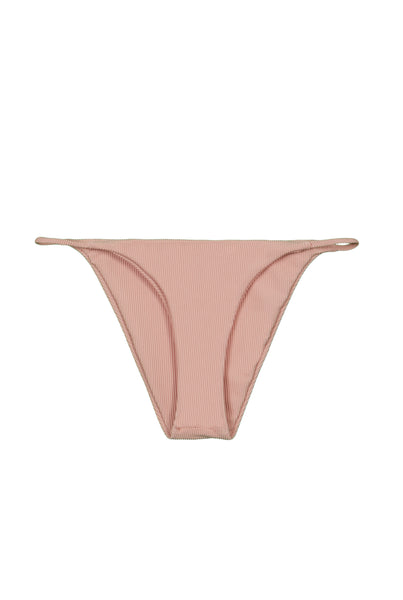 String Bottom (Ribbed Blush)
