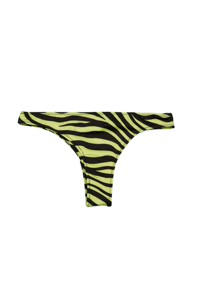 Tanning Bottom (Zebra / Yellow)
