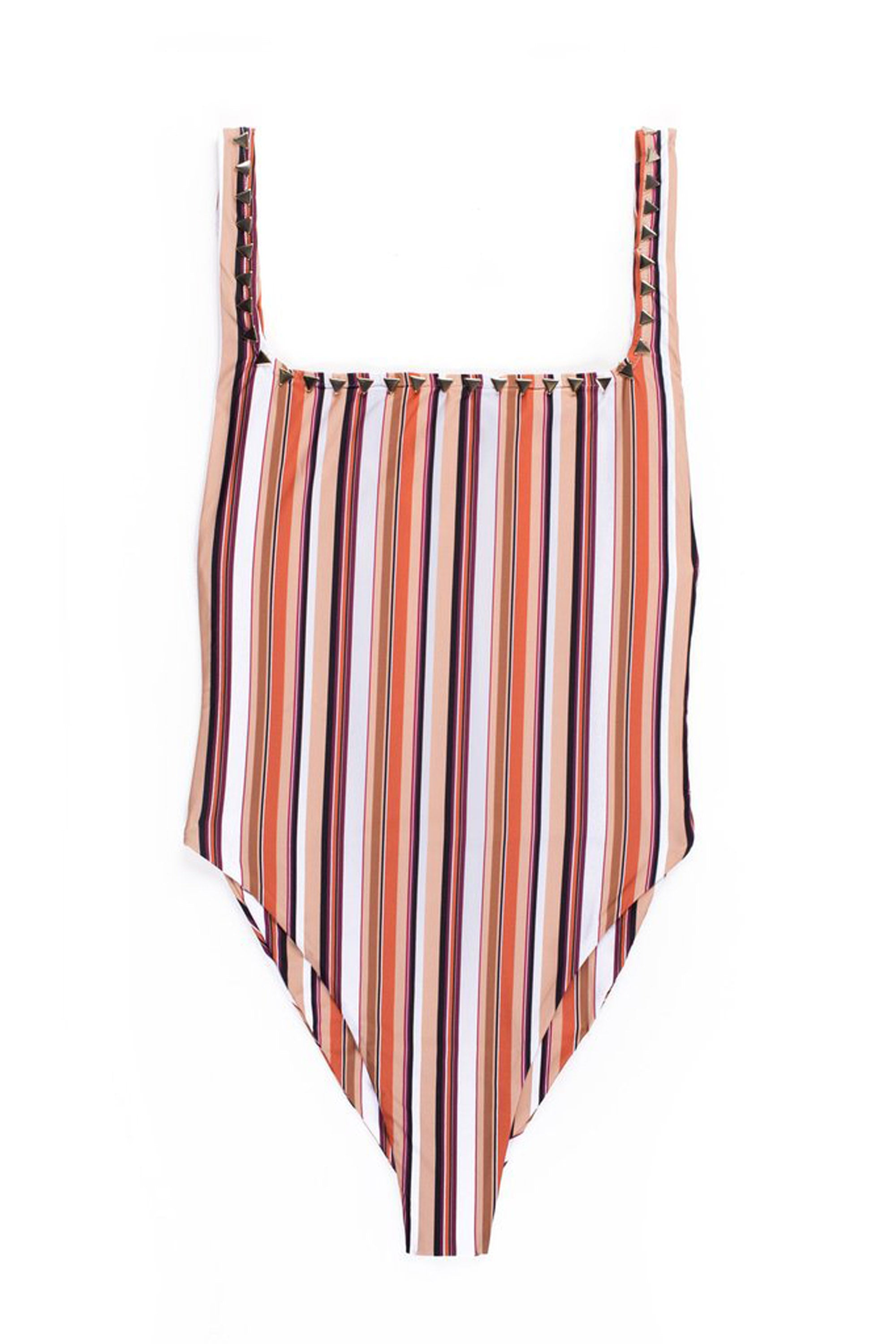 The Goddess One Piece (Stripe Multi)