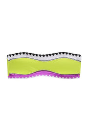 The Babe Bandeau Top (Lime Sherbert)