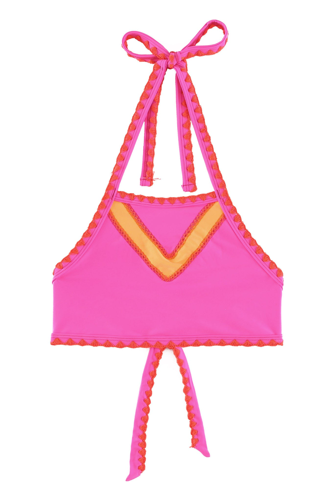 The It Girl Halter Top (Orange Sherbert)