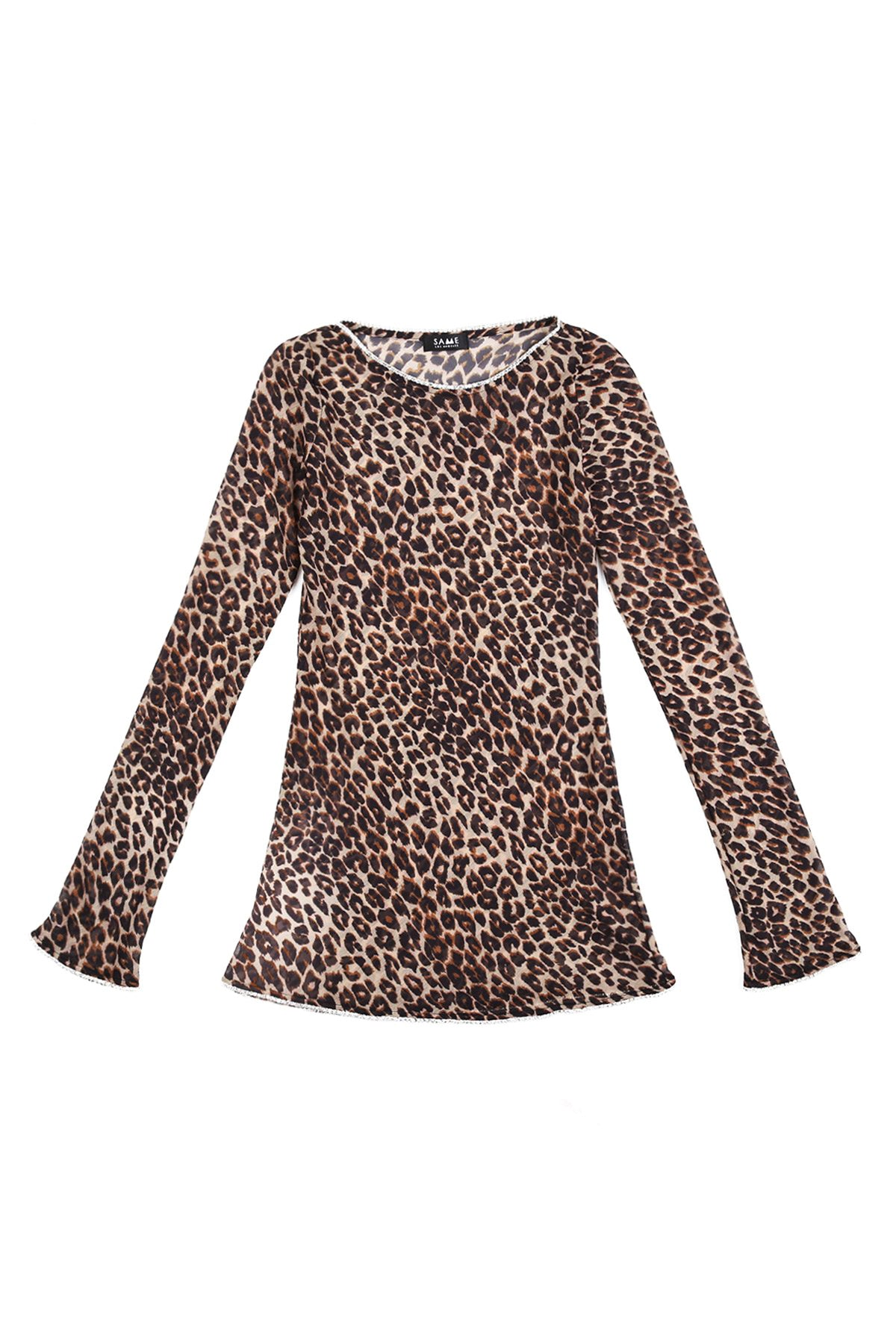 The Baby Girl Dress (Cheetah/Crystal Trim)