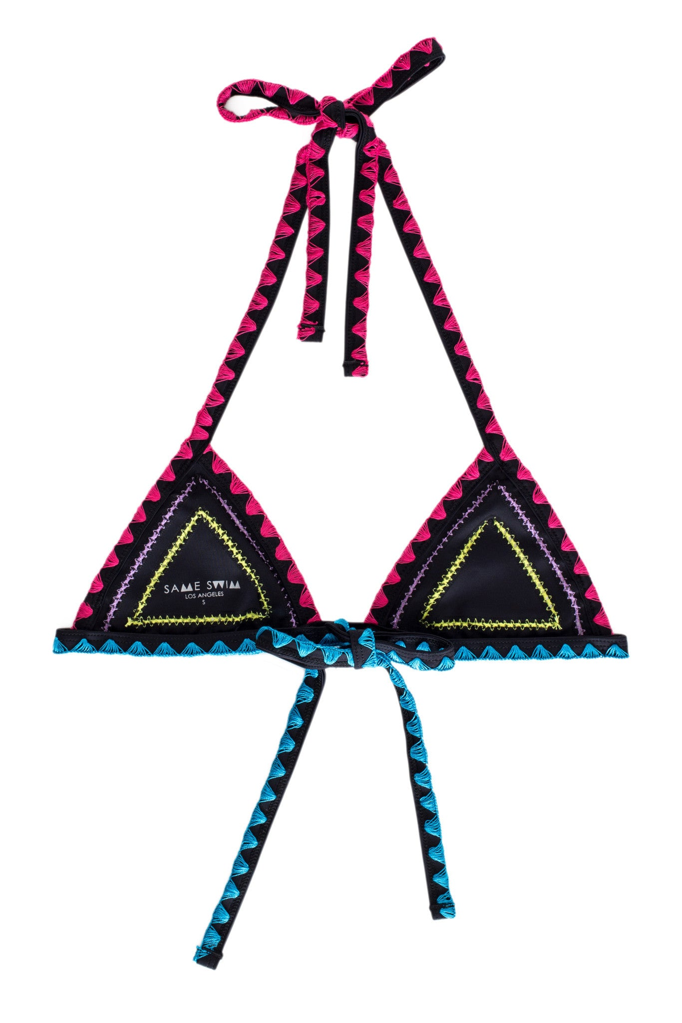 The Catch Triangle Top (Noir Papillon)