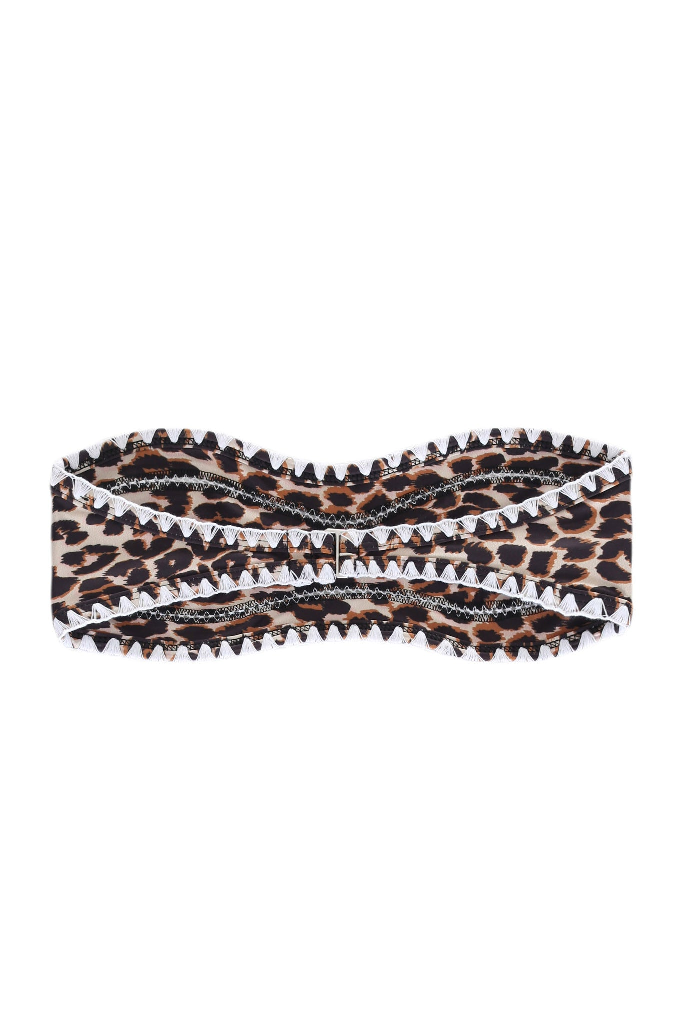 The Babe Bandeau Top (Cheetah)