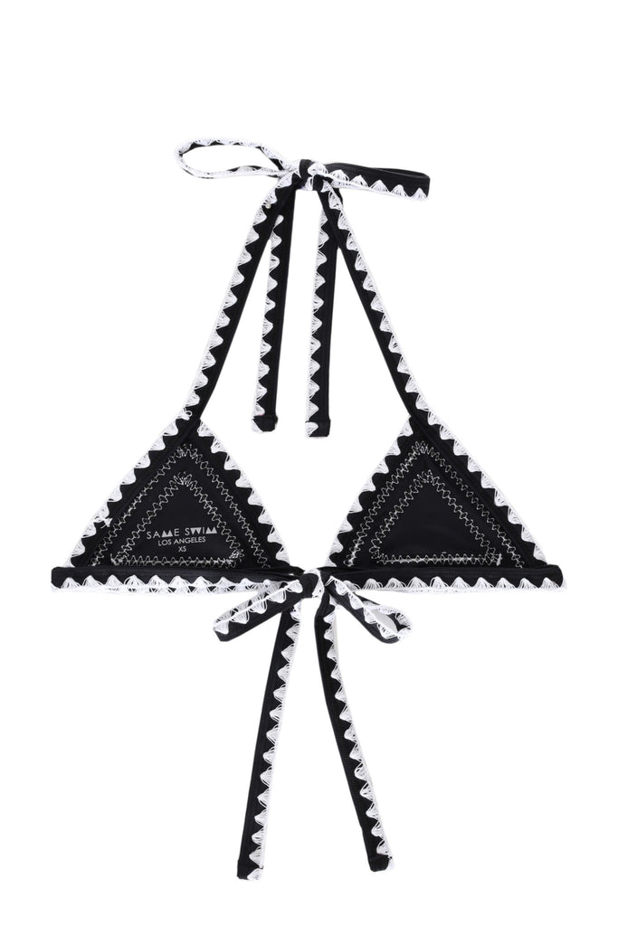 THECATCHTRIANGLETOP(NOIR/BLANC)
