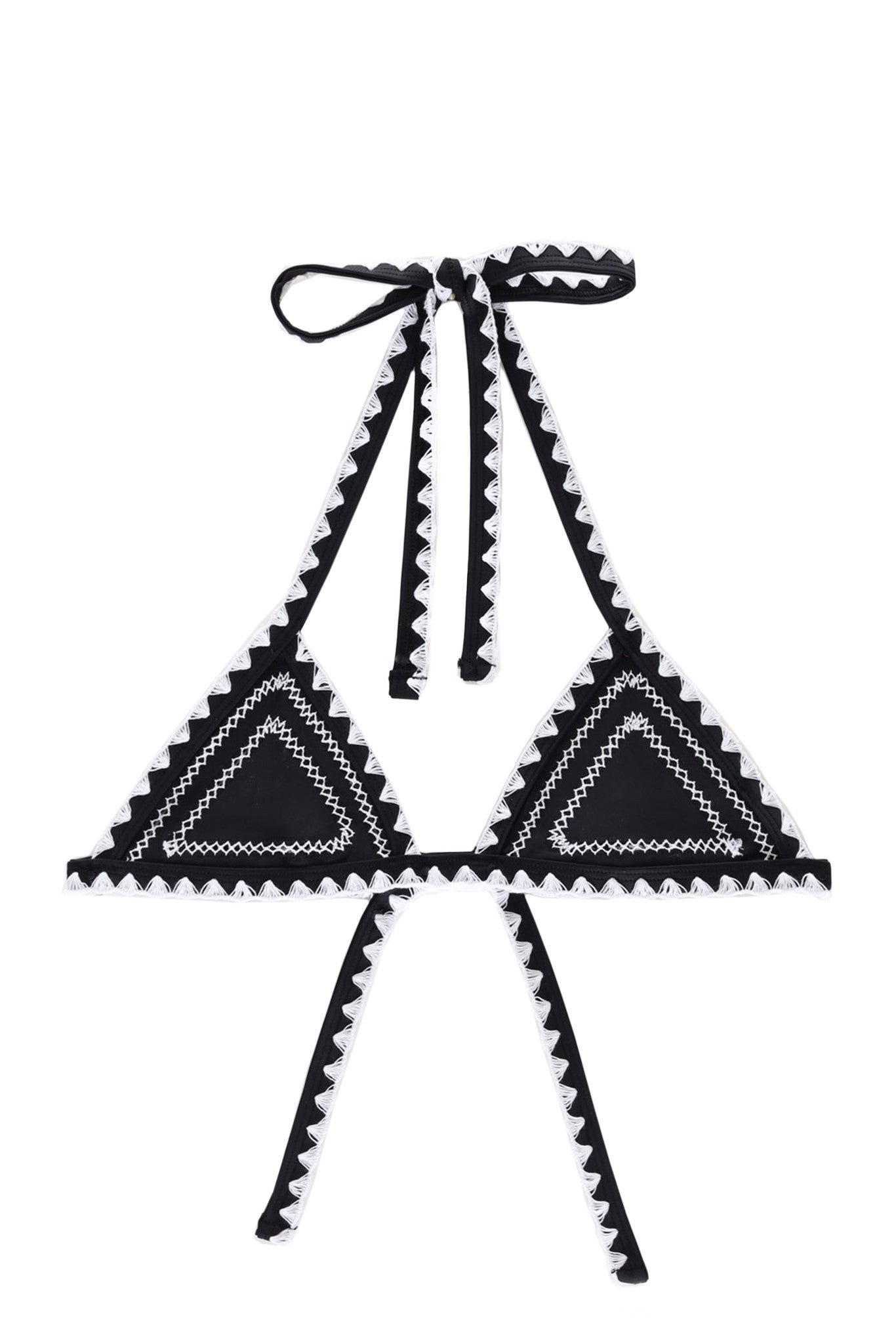 The Catch Triangle Top (Noir/Blanc)