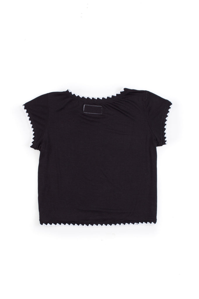 THECROPTEE(NOIR/BLANCSTITCH)