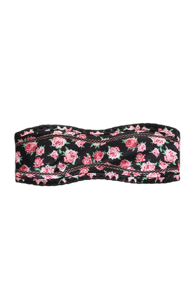 The Babe Bandeau Top (Floral)