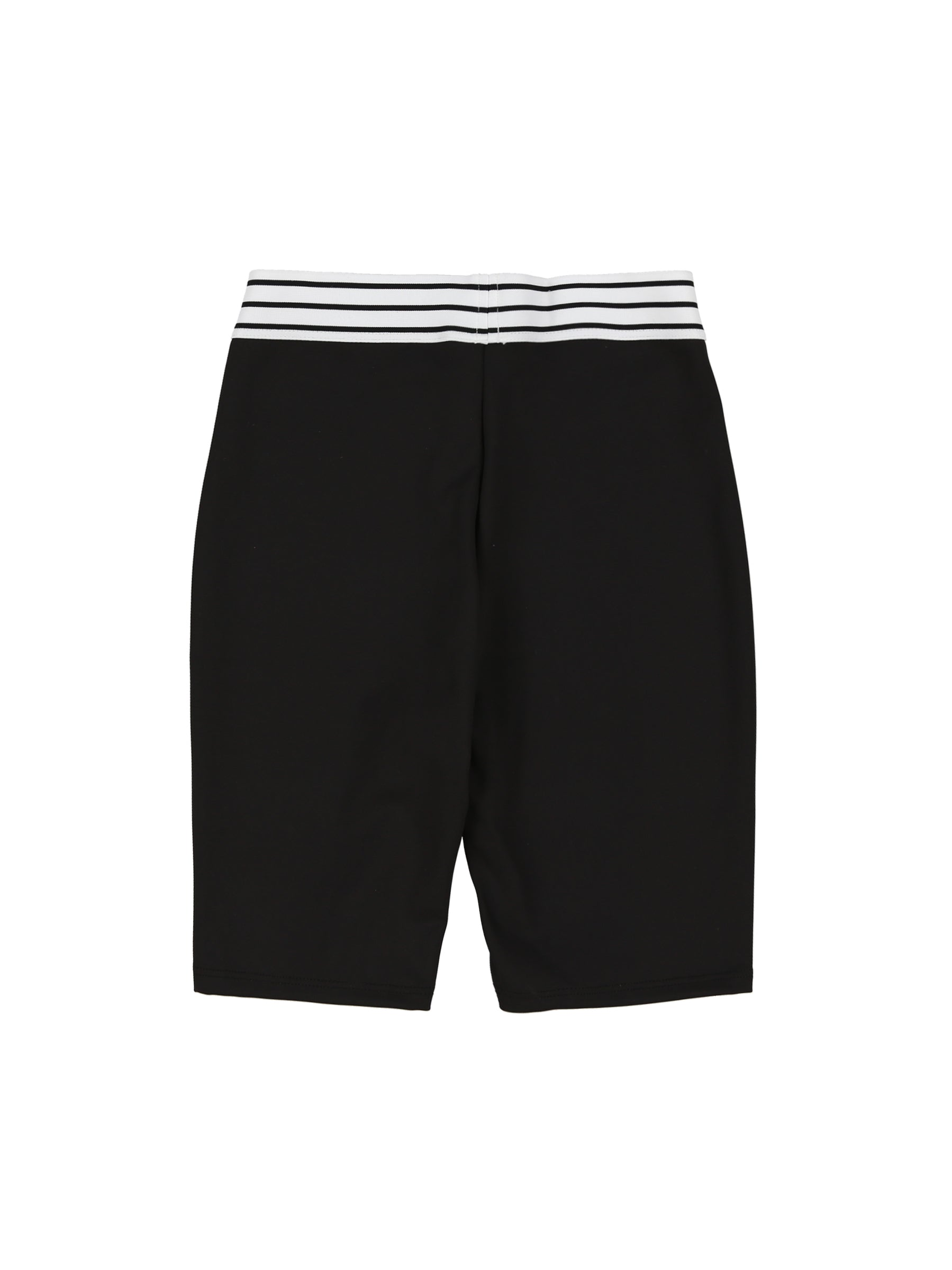 Elastic Biker Short (Black)