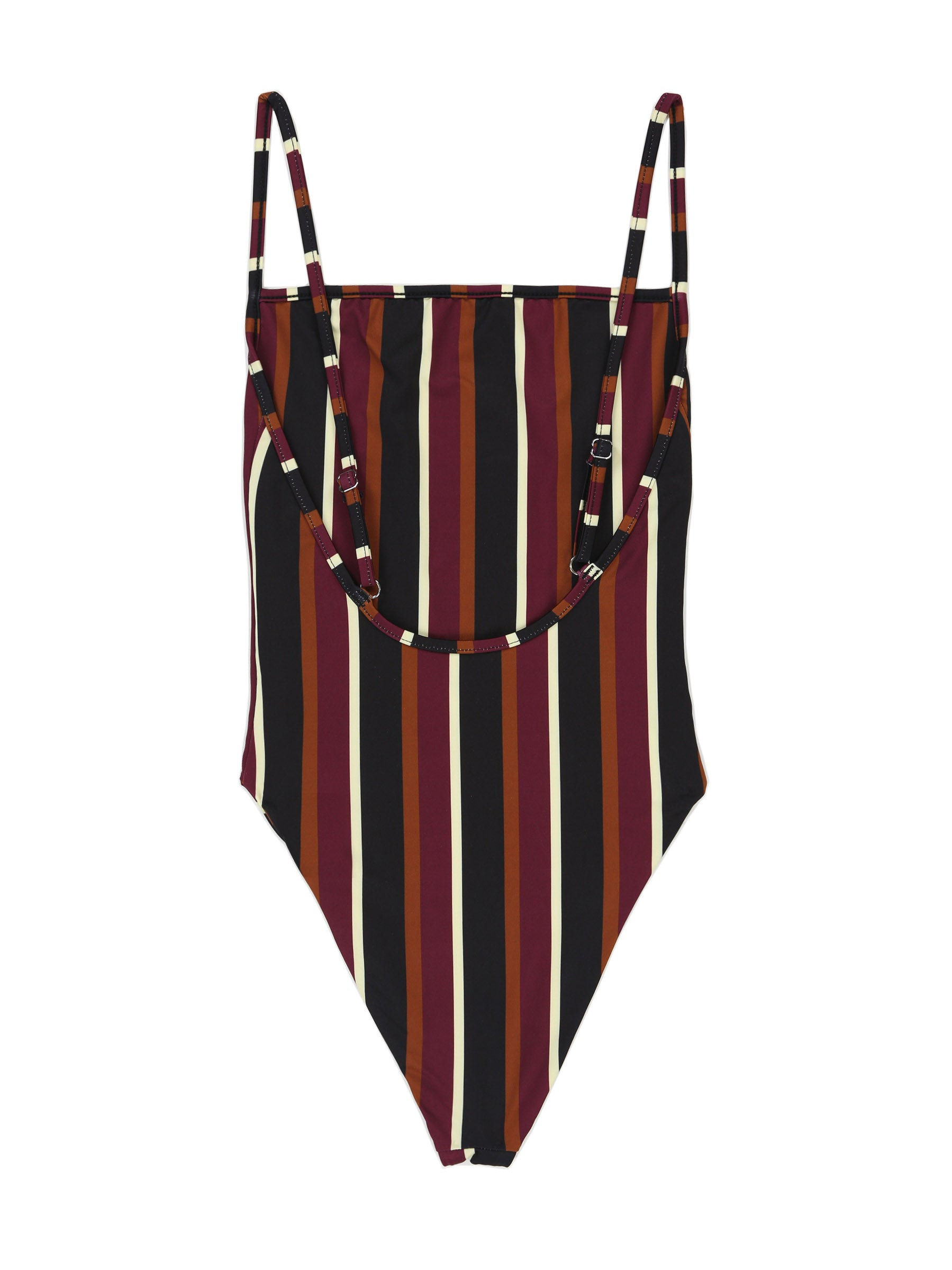 The One Piece (Wine Stripe)