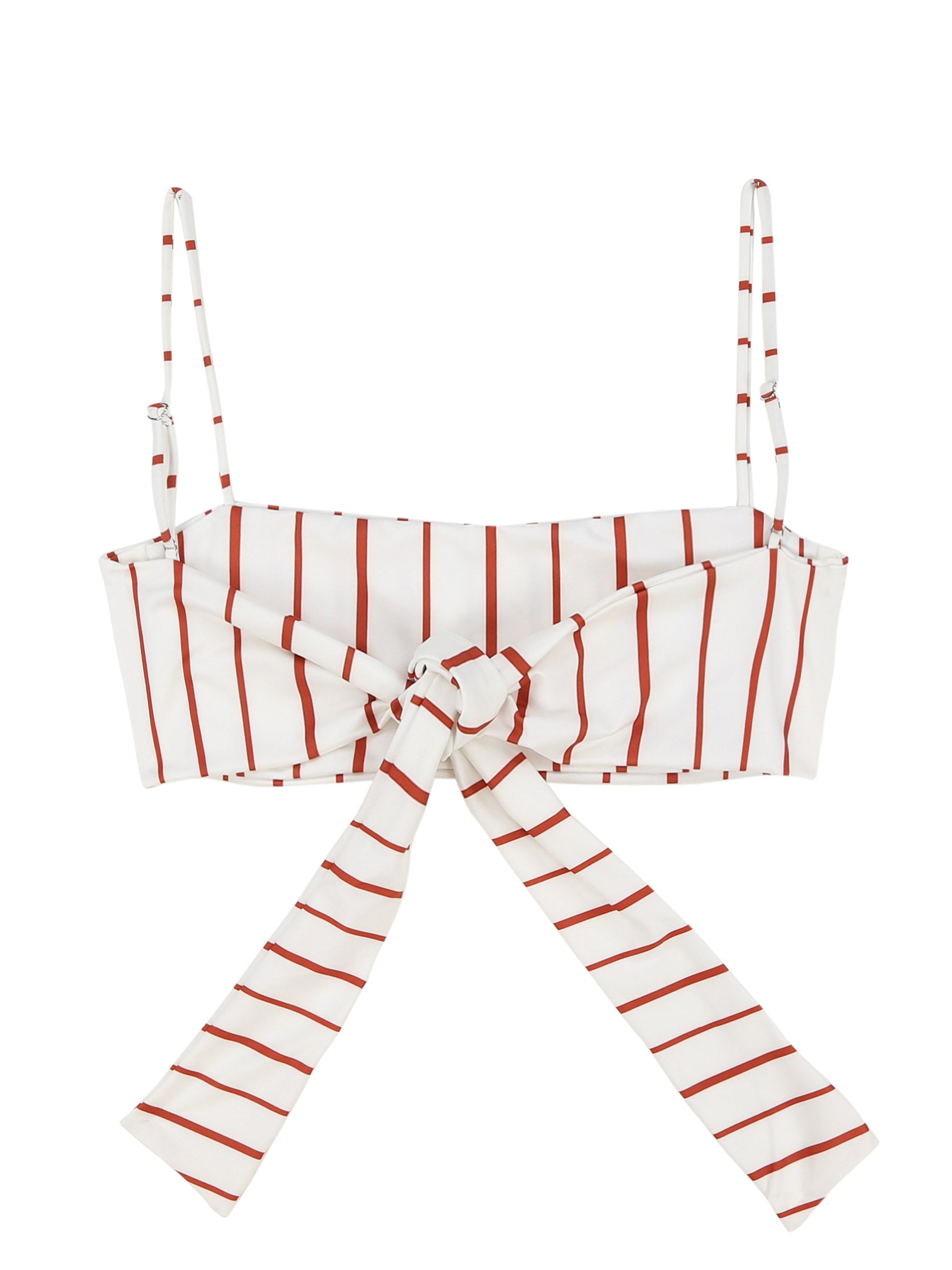 Bandeau Top (White Adobe Stripe)