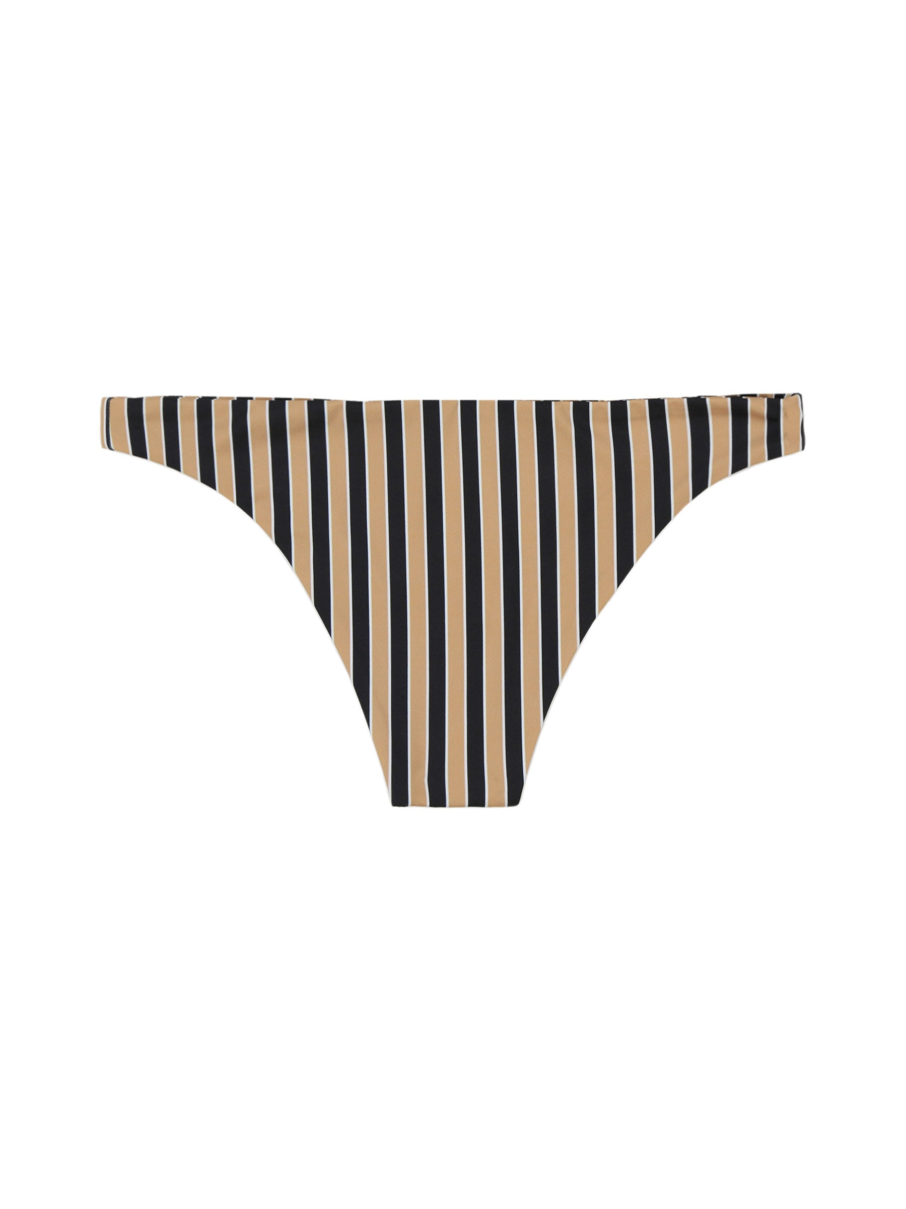 BRIEFBOTTOM(TAN/BLACKSTRIPE)