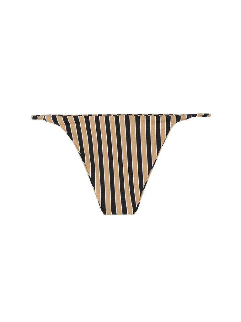 STRINGBOTTOM(TAN/BLACKSTRIPE)