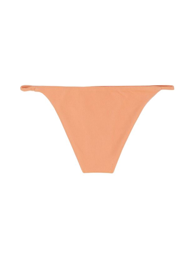 String Bottom (Ribbed Orange)