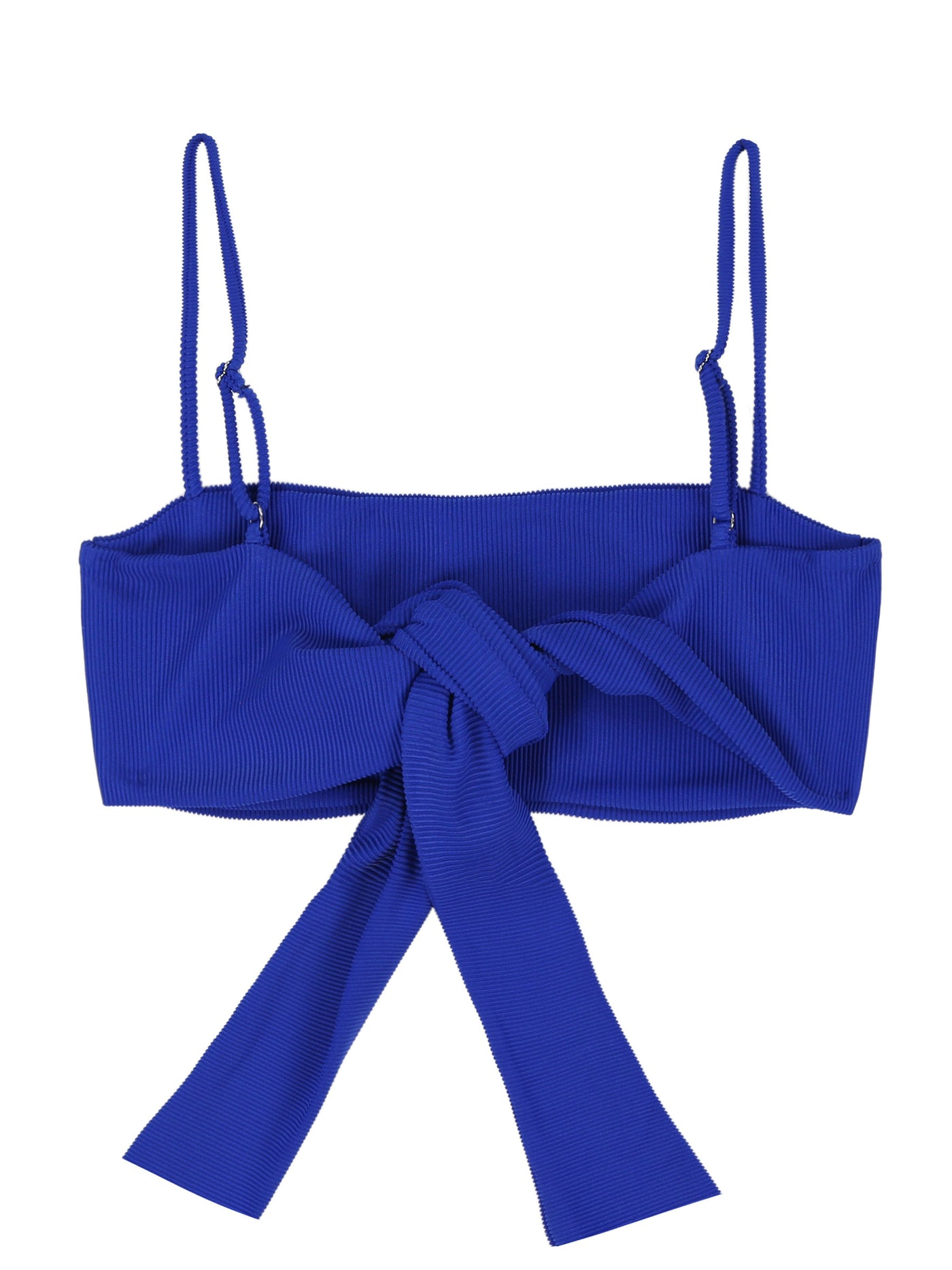 Bandeau Top (Ribbed Royal)