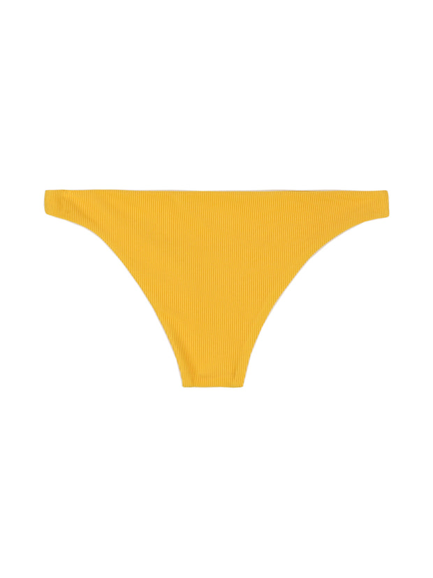 Brief Bottom (Ribbed Yellow)