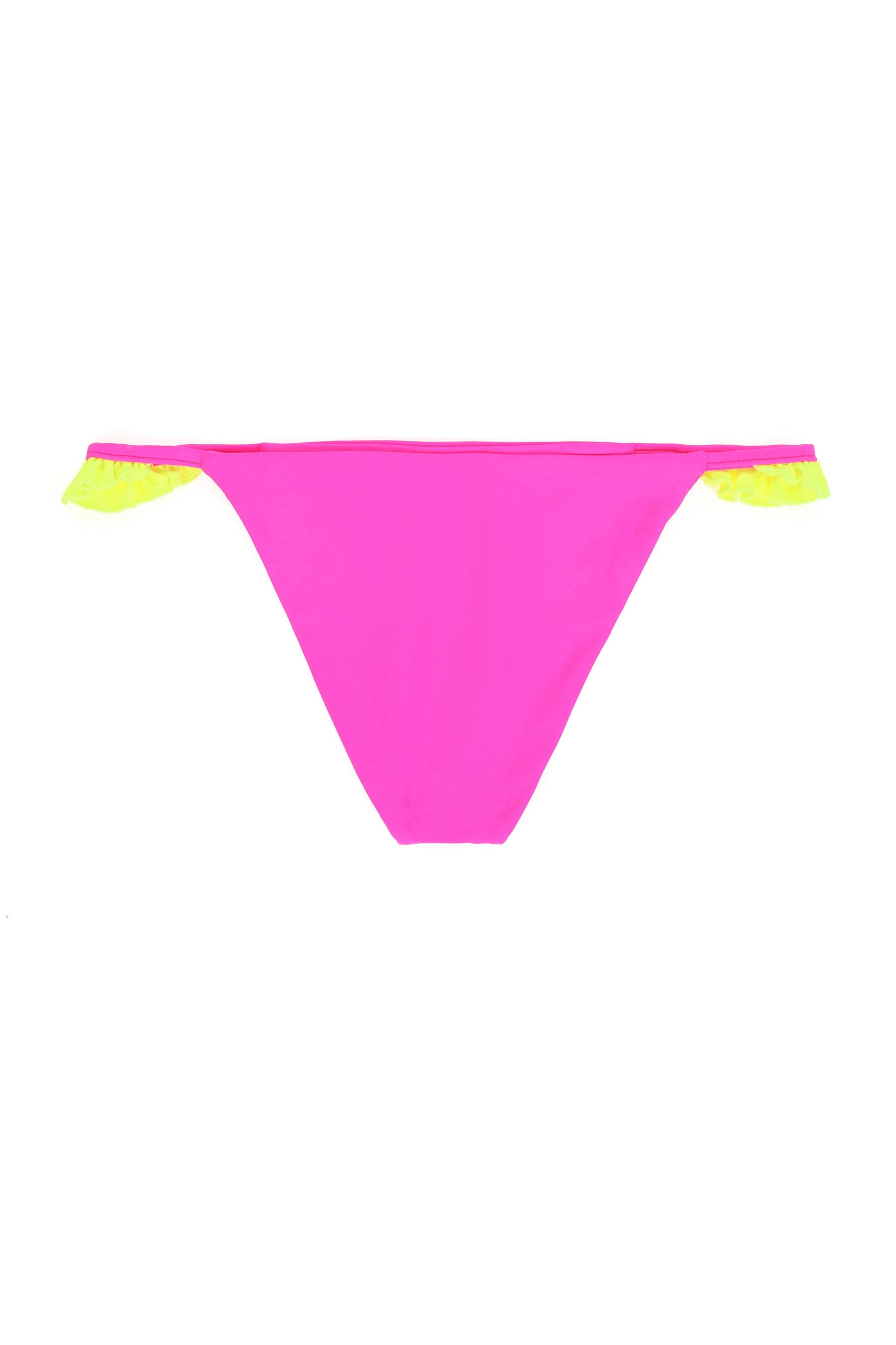 The Pin-Up Bottom (Neon Pink/Neon Yellow)