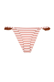 The Pin-Up Bottom (Pink Stripe/Rust)