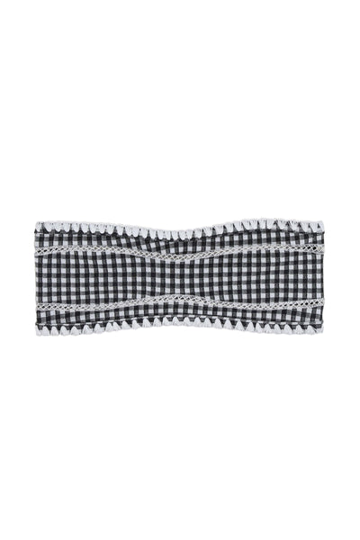 The Babe Bandeau Top (Gingham)