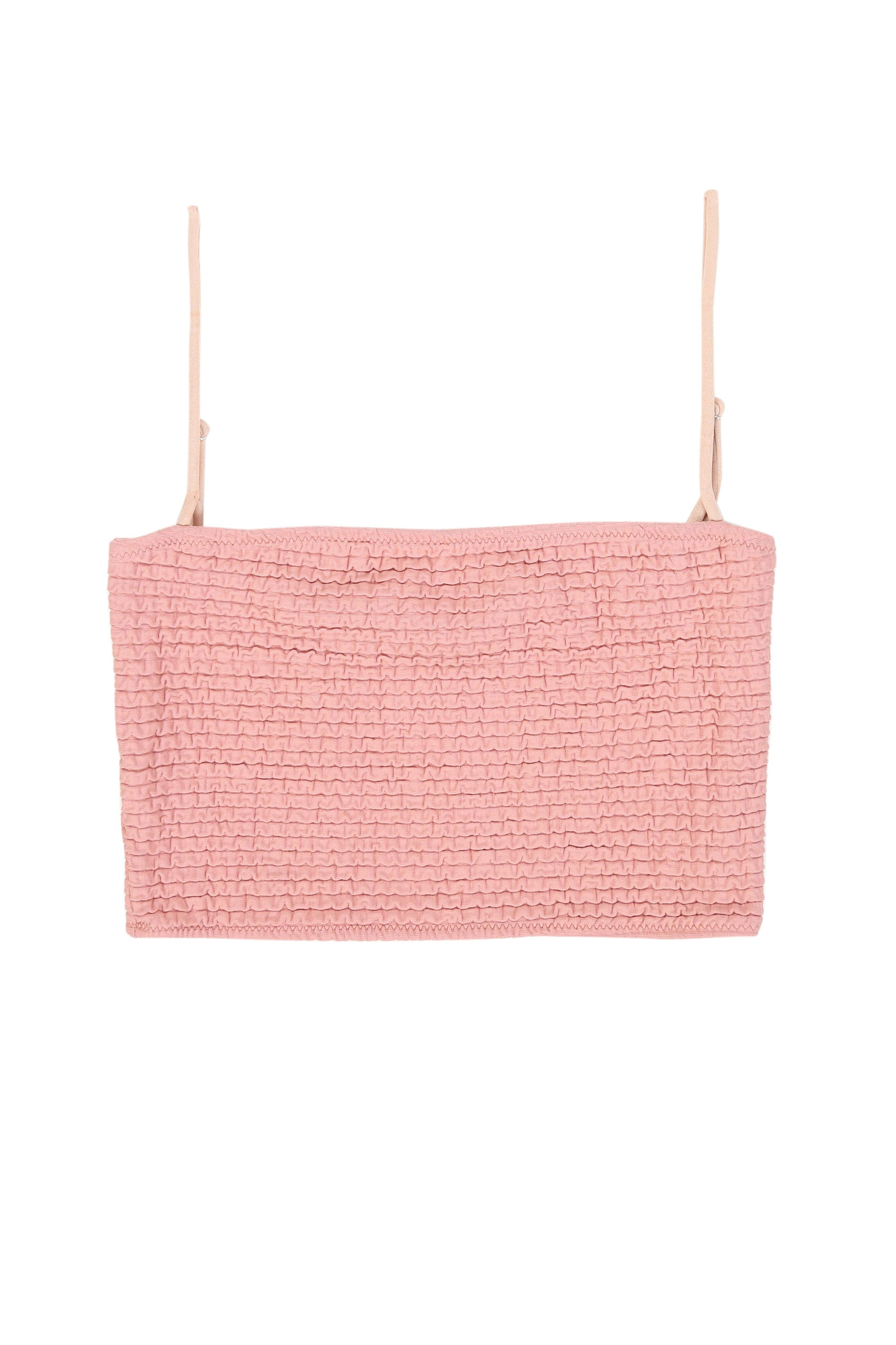 The Cindy Crop (Textured Blush)