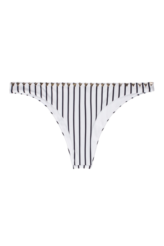 The Saks Bottom (Stripe Blanc&Noir)