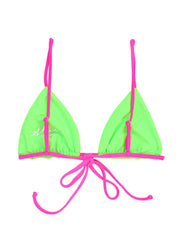 Triangle Top (Neon Green/Neon Pink)