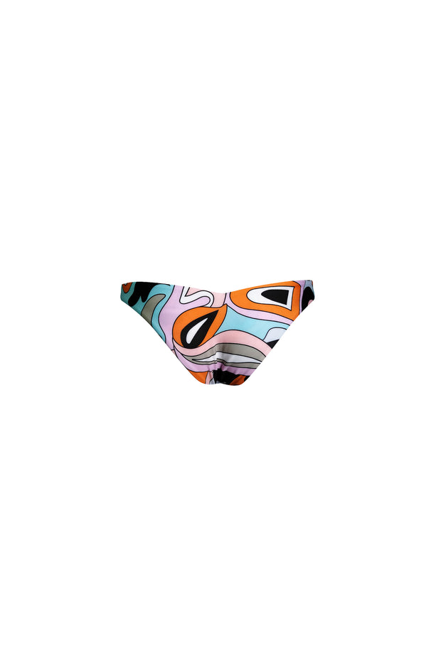 V Brief Bottom (Pastel Geo)
